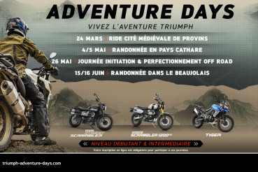 Triumph Adventure Days